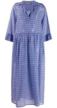 Geometric Print Dress - Altea