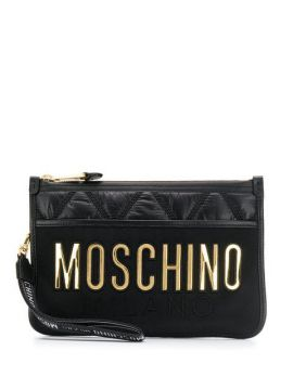 Quilted Clutch - Moschino