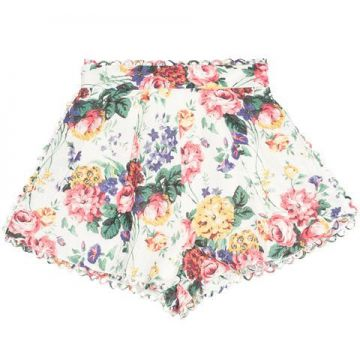 Allia Floral Print Short - Zimmermann
