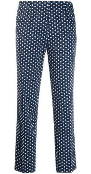 Geometric Print Trousers - Altea