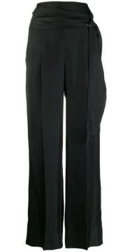 Wide Leg High Waisted Trousers - Brunello Cucinelli