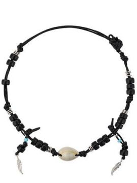 Beaded Shell Necklace - Giacobino