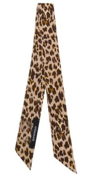 Leopard Print Thin Scarf - Andamane