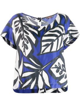 Palm Print Blouse - Altea