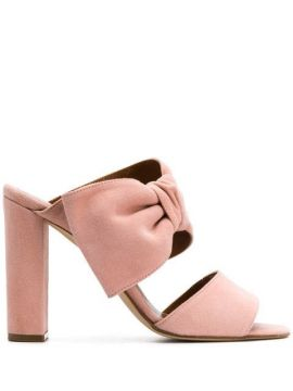 Bow Detail Sandals - Paris Texas