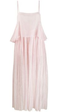 Salome Pleated Dress - Thierry Colson