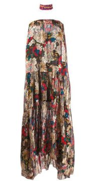 Printed Aurora Maxi Dress - Anjuna