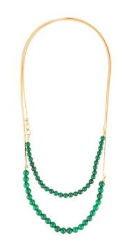 Jade Beads Necklace - Crystalline