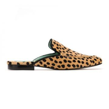 Mule Slip On Animal Print - Blue Bird Shoes