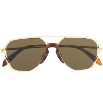 Geometric Shaped Sunglasses - Alexander Mcqueen Eyewear