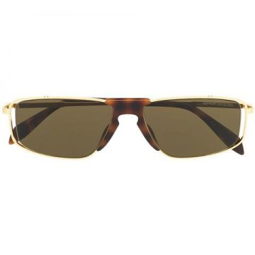 Rectangular Shaped Sunglasses - Alexander Mcqueen Eyewear