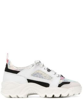 Chunky Lace-up Sneakers - D.a.t.e.