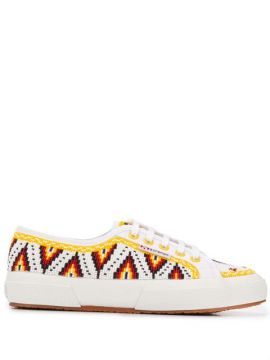 Embroidered Sneakers - Alanui