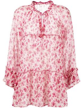 Rebecca Floral Mini Dress - Anjuna