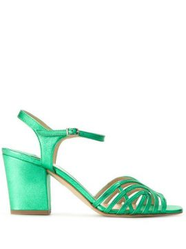 Chunky Heeled Sandals - The Seller