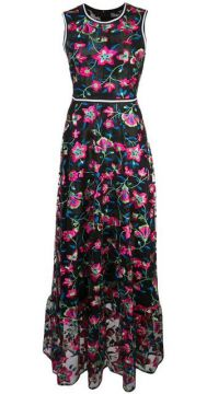 Lorelei Embroidered Floral Dress - Cynthia Rowley