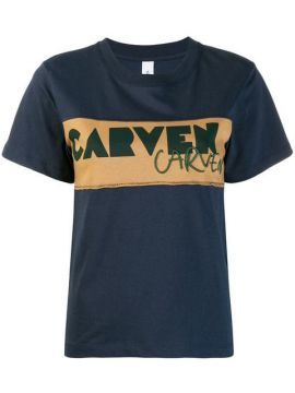 Embroidered Logo T-shirt - Carven