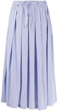 Pleated Maxi Skirt - Aspesi