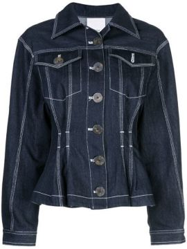 Fitted Denim Jacket - Acler
