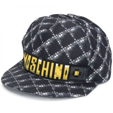 Pixelated Logo Cap - Moschino