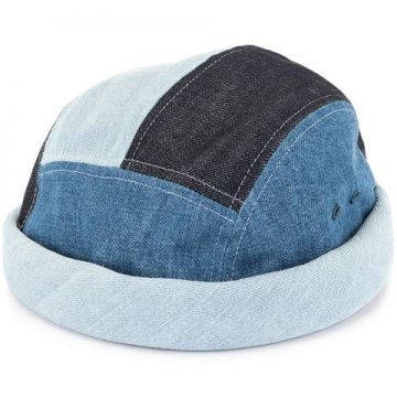 Patched Beanie - Beton Cire