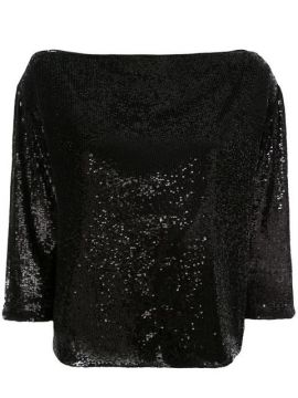 Sequin Embellished Blouse - A.l.c.