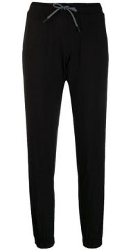 Cropped Track Trousers - Dkny