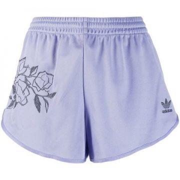 Embroidered Floral Short - Adidas