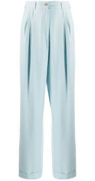 Wide Leg Tailored Trousers - Bally