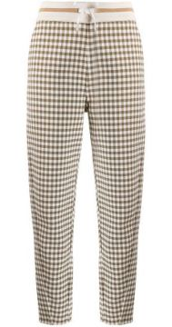 Checked Slim-fit Trousers - Bally