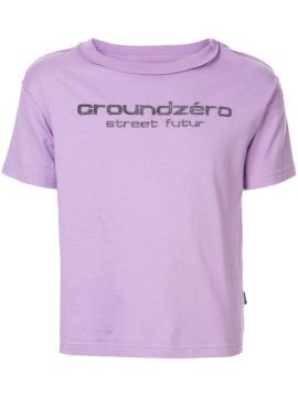 Logo Print T-shirt - Ground Zero