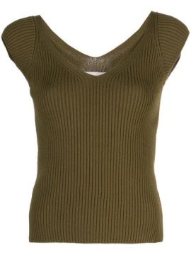 Celine Ribbed Top - Mara Hoffman