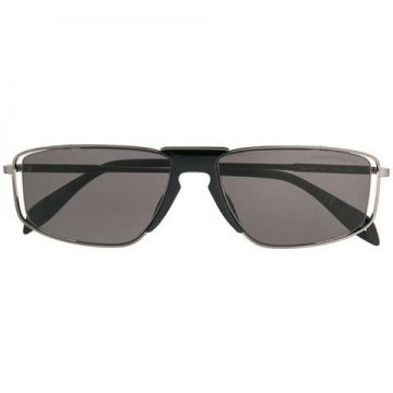 Rectangle Frame Sunglasses - Alexander Mcqueen Eyewear