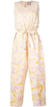 Abstract Print Jumpsuit - Anntian