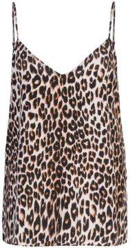Leopard Print Camisole Top - Equipment