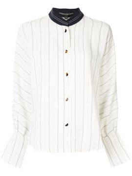 Stand-up Collar Shirt - Comme Moi