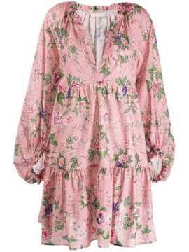 Floral Smock Dress - Anjuna