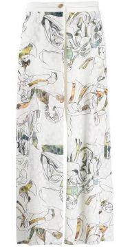 Embroidered Trousers - Chalayan