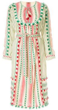 Embroidered Traditional Dress - Dodo Bar Or