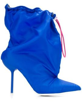 2decce76a5 Drawstring Ankle Boots - Unravel Project