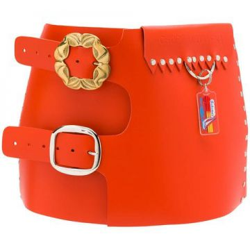 Double Buckle Wide Belt - Chopova Lowena
