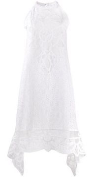 Macrama Embroidered Dress - Costarellos