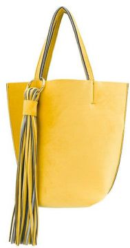 Fringed Embellished Tote Bag - Alila