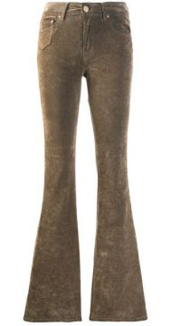 Velur Flared Jeans - Dont Cry