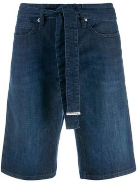 Straight-leg Denim Short - Cambio