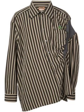 Striped Business Shirt - Andreas Kronthaler For Vivienne Wes