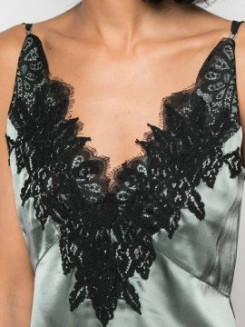 Lace Embroidered Camisole Top - Dorothee Schumacher
