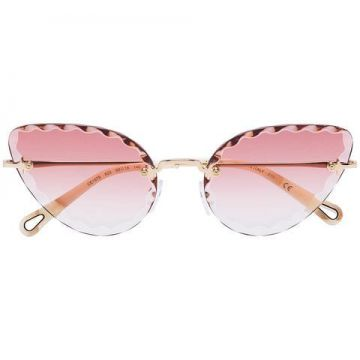 Rosie Cat-eye Sunglasses - Chloé Eyewear