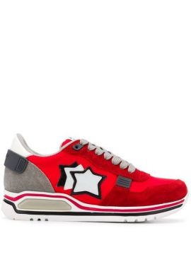 Star Patch Sneakers - Atlantic Stars