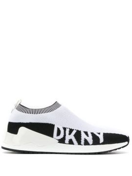 Knitted Slip-on Sneakers - Dkny
